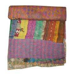 Yet for us the beauty is in the imperfection. However, we think you are more likely to be amazed by how perfect a handmade product can be. Fairtrade… Trading fairly at a fair price. Handmade Bed Covers, Kantha Quilt, Quilts, Fair Price, Bedspread, Art Deco Fashion, Sari, Indian, Queen
