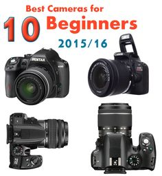 t is a common trend these days to own a camera, that can help you click professional photos. Find the 10 cheap best cameras for beginners 2015/16 in UK.