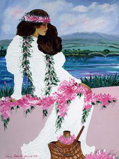 Hilo Dancer by Diana Hansen-Young @anakaliatyra @lele43 ❤️