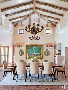 Step Inside 47 Celebrity Dining Rooms Photos | Architectural Digest