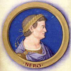 Jean Bourdichon: Description des douze Césars avec leurs figures 6-Néron.jpg