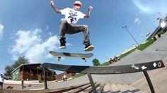 CHAZ ORTIZ – WOODWARD Skatepark 2012 B-SIDE