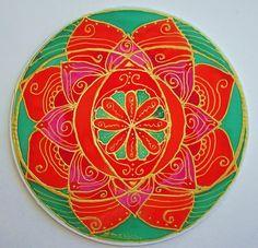 mandala artSacral chakra chakra art by HeavenOnEarthSilks on Etsy