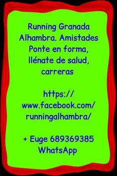 Poniéndonos en forma. Miércoles running en parque Tico Medina. Allí os espero. Granada, running Alhambra  Facebook.com/runningalhambra/  + info Euge 689369385 WhatsApp   (Evento   https://www.facebook.com/events/1443679279255389/  No organizamos, solo Informamos   Más información de eventos en Granada Mario 616453927 WhatsApp info@extragrupo.org