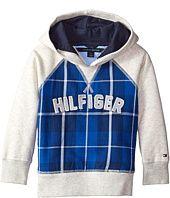 Tommy Hilfiger Kids  Flannel Fleece Pullover Hoodie (Toddler/Little Kids)