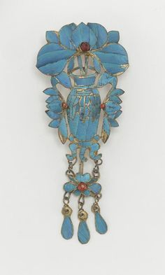 Hair Ornament, 19th-first half of 20th century. Qing dynasty, China.