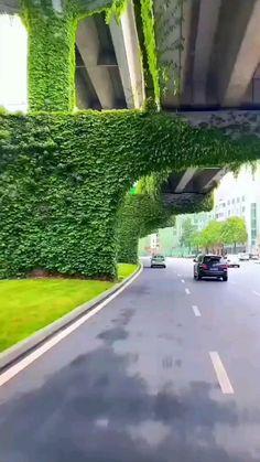 Civil Engineering Construction, Terrace Decor, Eco Buildings, House Design Pictures, Bridge Design, Best Places To Travel, Architecture Plan, Interior Exterior, Green Building