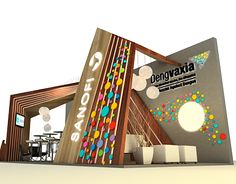 Stand Exhibition on Behance Exhibition Stall, Exhibition Stand Design, Exhibition Display, Kiosk Design, Display Design, Retail Design, Stage Design, Event Design, Exibition Design