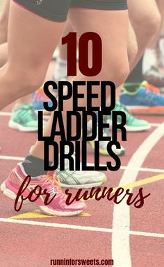 These 10 agility ladder drills are sure to increase your speed. Try this quick ladder workout with exercises to help you get faster, improve balance and help you stay light on your feet when running. #ladderdrills #ladderworkout #ladderexercises Marathon Training For Beginners, Running For Beginners, Half Marathon Training, How To Start Running, Running Tips, How To Run Faster, Workout For Beginners, Agility Training, Training Plan
