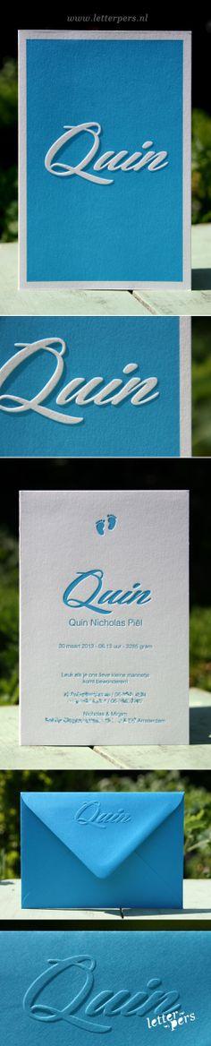 letterpers_letterpress_Quin_geboortekaartje_preeg_relief_envelop_kaart_blauw