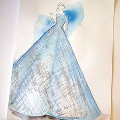 Inspired by Zuhair Murad Fall 2014 Love Fashion, Fashion Art, Fashion Design Sketches, Zuhair Murad, Fashion Illustrations, Instagram Images, Photo And Video, Inspired, Fall