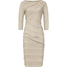 Reiss Janelle Bodycon Stretch Lace Dress ($285) ❤ liked on Polyvore
