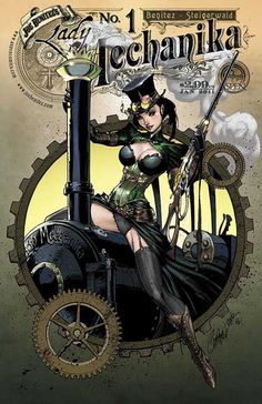 Lady Mechanika 1B | Benitez Productions