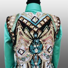 """Teenage Dirtbag"" Vest, custom made for Allison Clark"