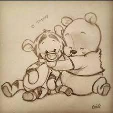 winnie the pooh :) zeichnungen, zeichnung, disney - KUNST Disney Kunst, Arte Disney, Disney Disney, Funny Disney, Disneyland, Art Drawings Sketches, Cool Drawings, Drawings About Love, Sweet Drawings