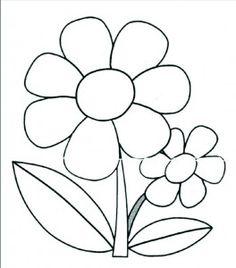 Flower coloring pages Flower Coloring Pages, Colouring Pages, Coloring Pages For Kids, Coloring Sheets, Coloring Books, Applique Patterns, Applique Quilts, Applique Designs, Embroidery Designs