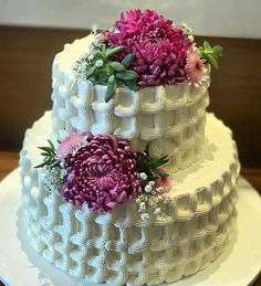 Image may contain: dessert, flower and food Cupcakes, Cupcake Cakes, Decadent Cakes, Cakes For Women, White Wedding Cakes, Cake Decorating Techniques, Specialty Cakes, Floral Cake, Holiday Cakes