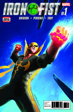 Marvel shares a sneak peek at their upcoming Iron Fist series hitting stores March 22nd.