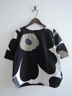ナチュラル服古着通販dropで取り扱う「マリメッコ marimekko RAY コットンショートスリーブシャツ 38(23-1712-64)【90A81】」の通販ページ