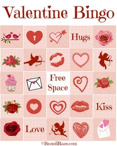 Literacy Musing Mondays ~ Valentine Bingo {Free Printables}