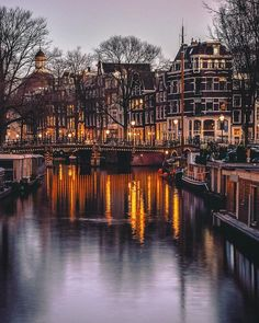 """1,113 Likes, 103 Comments - Amsterdam - Travel - The World (@gabrielguita_) on Instagram: """"The purple evening ♀️ . . . . #hdr_addiction #travelworld_addiction#travel_drops…"""""""