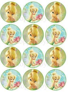 ... Edible Disney Tinkerbell Wafer