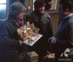 BRUNET WIECZOROWĄ PORĄ dir. Stanisław Bareja (1976) Wicked, Xmas, Polish, Fictional Characters, Art, Art Background, Vitreous Enamel, Christmas, Kunst