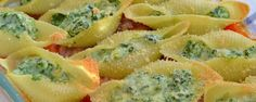 Makkelijke Maaltijd: Gevulde pastaschelpen met spinazie | Uit Pauline's KeukenUit Pauline's Keuken