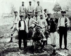 African American baseball team, 1913. Vintage African American photography courtesy of Black History Album, The Way We Were. Follow Us On Twitter @blackhistoryalb