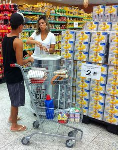 Degustação da Skol Ultra nos supermercados da Barra da Tijuca.