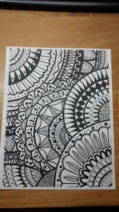 🍎An inspiring ideas for happy souls the powerpuff girls,girls fashion,that girl,beautiful female,gi Sharpie Drawings, Sharpie Doodles, Sharpie Art, Pencil Art Drawings, Art Drawings Sketches, Easy Drawings, Black Sharpie, Flower Drawings, Sharpie Projects