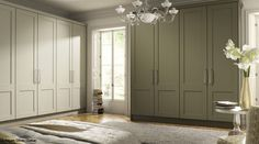 Shaker bedroom wardrobe doors