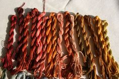 Calico Rabbit: Tutorial you have to try - how to over dye cotton floss