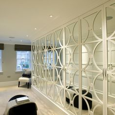 Covering Mirrored Closet Doors Design Ideas, Pictures, Remodel, and Decor - page 9