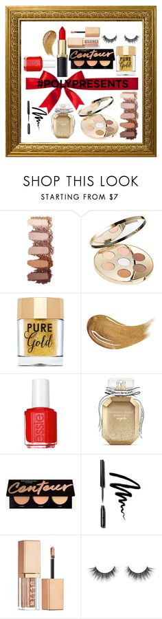 """#PolyPresents: Sparkly Beauty"" by fashionactive ❤ liked on Polyvore featuring beauty, Becca, Too Faced Cosmetics, Essie, Victoria's Secret, Bobbi Brown Cosmetics, Stila, contestentry and polyPresents"