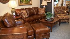 Merveilleux Always 100% Leather At Carriage House Furniture Company