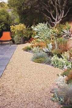 Designed by the amazing Davis Dalbok and team at Living Green :: Modern Eichler garden in San Rafael