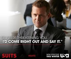 Harvey doesn't need to stand on ceremony. Harvey Specter Suits, Suits Harvey, Suits Series, Suits Tv Shows, Suits Quotes, Suits Usa, Gabriel Macht, Billionaire Lifestyle, Many Men