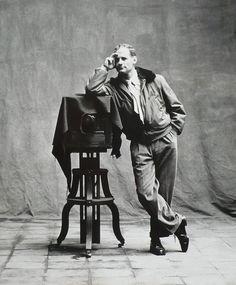 Irving Penn, self-portrait