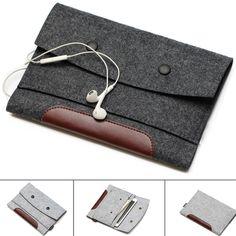 b0660f94b2a US $4.22 15% OFF|Wolvilt Laptop Sleeve Case Notebook Bag Tablet Pouch 7 8  10 11 12 13 14 15 17.3 voor Macbook air Pro Voor Xiaomi 13.3 15.6 inch in  Wolvilt ...