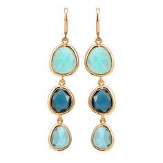 Hot Nieuwe Ontwerp Dangle Lange Oorbellen Mode-sieraden Charms Kleurrijke Crystal Stone Koper Drop Roze Oorbellen Voor Vrouwen 2015 Geschenken