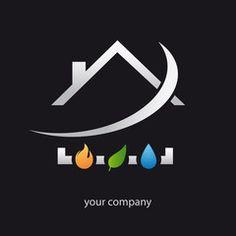 logo entreprise, plomberie, chauffage