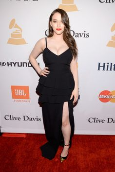 Kat Dennings Photos: 2016 Pre-GRAMMY Gala And Salute to Industry Icons Honoring Irving Azoff - Arrivals