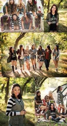Let's Go Camping Fall 2015 Senior Model Shoot Camping Photography, Girl Photography, Friends Group Photo, Friends Photo Shoot, Group Picture Poses, Friendship Photoshoot, Teen Photo Shoots, Sister Pictures, Friend Senior Pictures