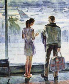 Кучеров Александр Александрович (1936). «Пути-дороги». Начало 1970-х годов.