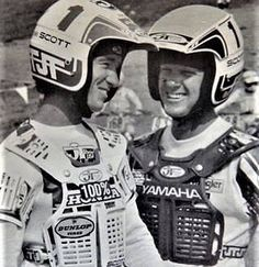 Let's trade bikes! @mxgoldenboy and @davidbaileymx share a story. These two are class acts. #legends#honda#yamaha #brocglover #davidbailey  via ✨ @padgram ✨(http://dl.padgram.com)