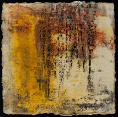 Color Pin. I appreciate how grounded this encaustics piece is within the scope of rustic/neutrals. The warmth of the piece also really appeals to me.