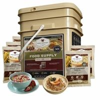 Wise Food Storage 120srv breakfast has a 25 year shelf life. All freeze dried & Dehydrated premade meals. #prepper #survival #foodstorage