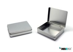 Embalagem de metal com tampa, totalmente personalizável. Veja todas as nossas embalagens de metal na nossa loja online: http://loja.mediapack.com/pt/embalagens-de-metal/