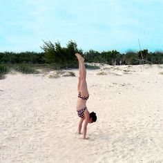 If you've been playing around with how to do Headstands and Forearm Stands, Handstands are another fun inversion to try. If you have your heart set on getting upside down, here are eight moves to practice. They'll help you build strength and stability, so you'll be standing on your hands in no time!